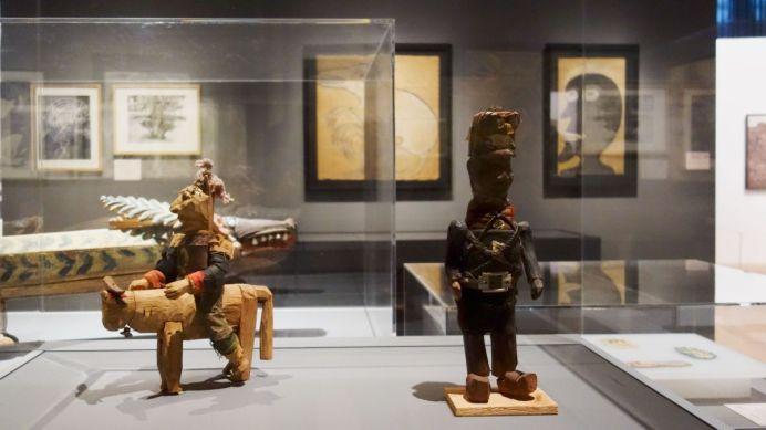 Jean Dubuffet - Un barbare en Europe au Mucem - 1 - Critique de la culture - Faire table rase - l'Art Brut