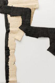 Max Charvolen - A Montpellier, AL/MA, rue de la Valfère (détail), escalier, murs, voûte, 416 x 344 cm, 2005 - Exposition à la galerie ALMA 2019 – photo ©David Huguenin