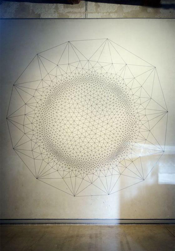 Étienne Rey – Horizon faille – Tension superficielle, 2019 – Sans gravité – une poétique de l'air à – Ardenome – Avignon © https://www.enrevenantdelexpo.com