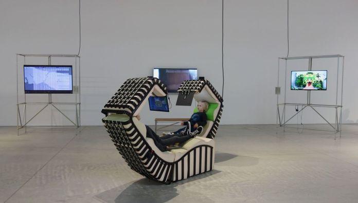 Deep Digital Twin, 2018 de Legrand Jäger - A School of Schools – Luma Arles - Vue de l'exposition - Photo En revenant de l'expo !