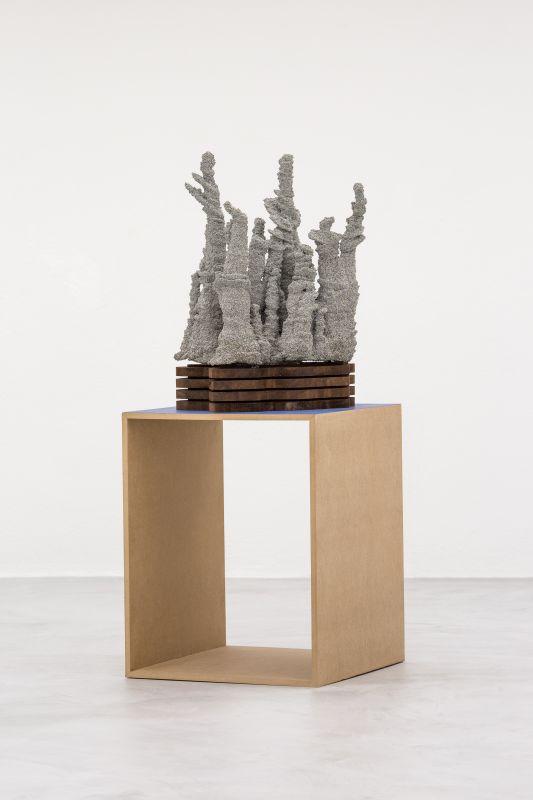 Jérémy Laffon - Algorama, 2019 - Primitive future à la Galerie de la Scep – Marseille - Photo © Nassimo Berthommé