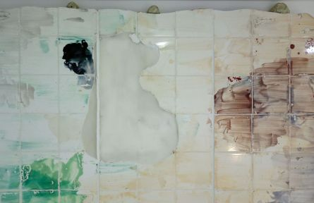 Côme Clérino- Cantine, 2019 (détail) - Et si on passait les meubles par la fenêtre - Double V Gallery