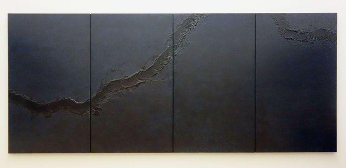 Fabienne Verdier - Black Night I, 2016 - Vide - vibration - Sur les terres de Cezanne au Musée Granet - Etage Salle 3
