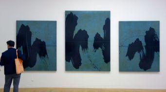 Fabienne Verdier - Paysage de l'Oberland à la tombée du jour, 2008 - Sur les terres de Cezanne au Musée Granet - RDC Salle 3