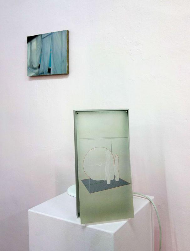 Jean-Charles Bureau - Danse d'une bâche, 2019 et Un ventilateur danse-t-il... Ébauche du silence – HLM Hors Les Murs, Marseille – Photo En revenant de l'expo!