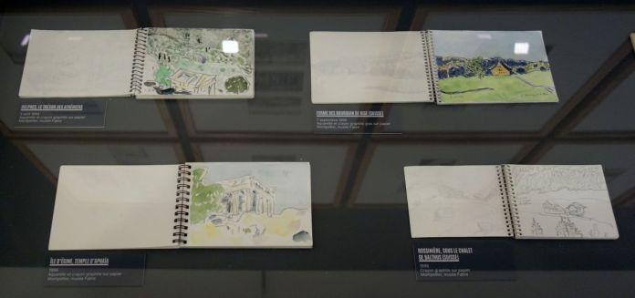 Vincent Bioulès - Carnets de voyage - Chemins de traverse au Musée Fabre
