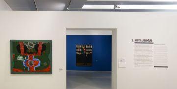 Vincent Bioulès - Chemins de traverse - Habiter la peinture au Musée Fabre 603
