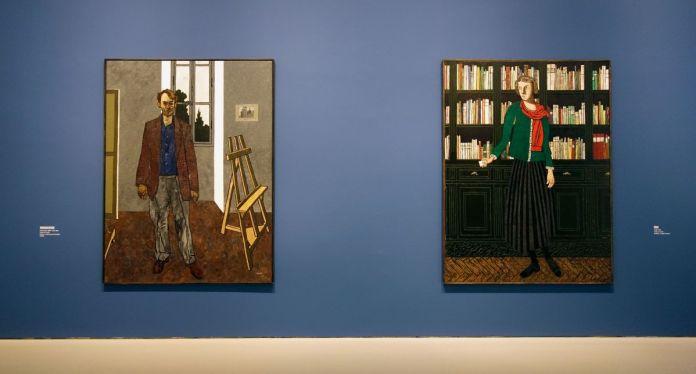 Vincent Bioulès - Chemins de traverse - Le portrait ; basculer de l'instant dans l'éternité au Musée Fabre