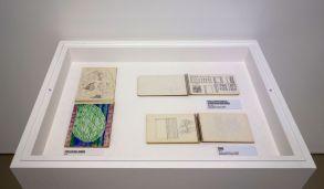 Vincent Bioulès - Etudes - Carnets de dessins - Chemins de traverse - Les dernières avant-gardes au Musée Fabre 201
