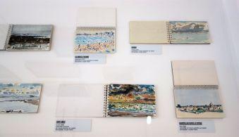 Vincent Bioulès - Etudes, carnets de dessins et pochades - Chemins de traverse - Le paysage, cette joie fondatrice au Musée Fabre 802