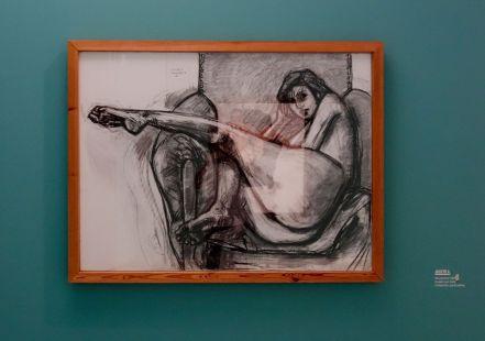 Vincent Bioulès - Juliette A, 199x - Chemins de traverse - Ce qu'il y a de plus compromettant au Musée Fabre 301