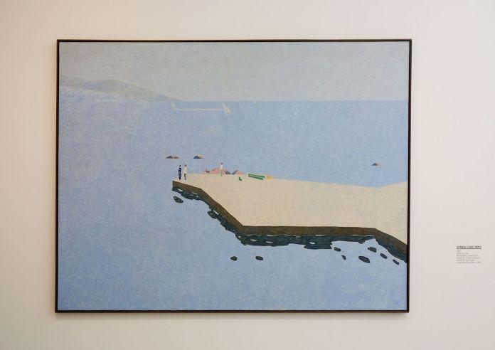 Vincent Bioulès - La Ponge V, 1981 - Chemins de traverse - Le paysage, cette joie fondatrice au Musée Fabre