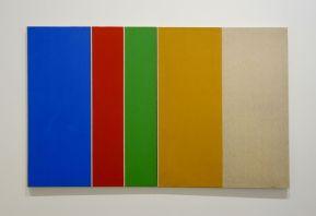 Vincent Bioulès - Sans titre, 1971 - Chemins de traverse - Les dernières avant-gardes au Musée Fabre