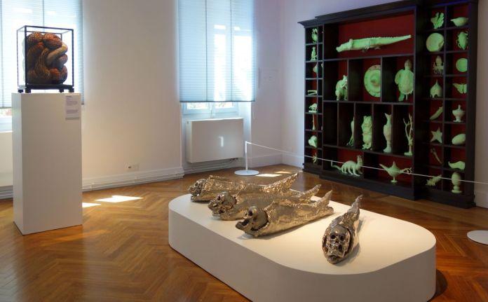 Bêtes de scène à la Villa Datris - Cabinets de curiosité -01