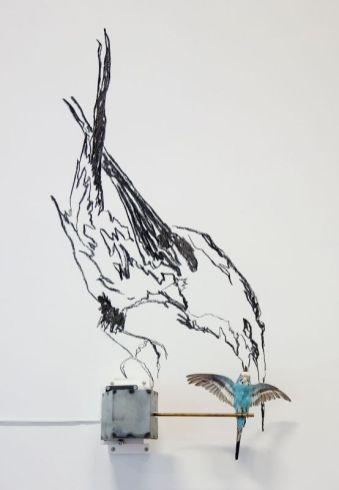 Delphine Gigoux-Martin - La mégère apprivoisée, 2011 - Bêtes de scène à la Villa Datris - Langages Animaliers