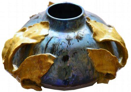 Gustave Fayet, Vase, 1897-1899
