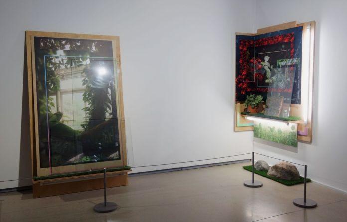 Mark Dorf - Paysage 15 et 14, Série Transposition, 2016-2017 - Sur Terre - Image, technologies & monde naturel - Rencontres Arles 2019