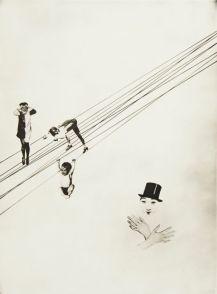 László Moholy-Nagy Mein Name ist Has, ich weiss von nichts Photoplastic 1927 Tirage sur papier aux sels d'argent