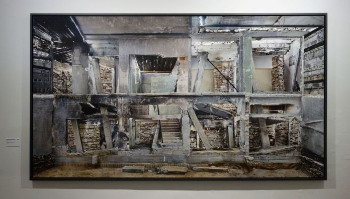 Marjan Teeuwen - Destroyed House Gaza 3,2017 - Destroyed House - Les Rencontres Arles 2019 - Exposition - Photo En revenant de l'expo !