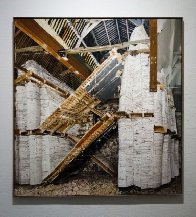 Marjan Teeuwen, Destroyed House Leiden 5, 2016 - Destroyed House - Les Rencontres Arles 2019 - Exposition - Photo En revenant de l'expo !