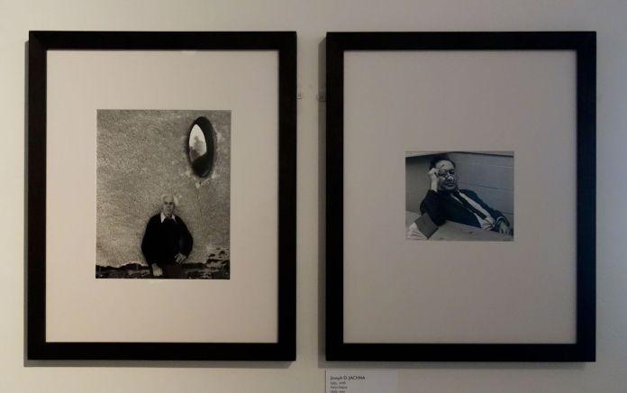 """We were Five - Musée Réattu Arles - Aspen 1951 - Aperture 1952 - Portraits de Monor White et Aaron Siskind. Photo """"En revenant de l'expo !"""""""