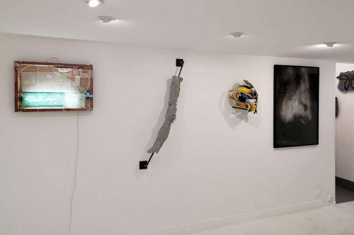 «Sous la peau» à la Double V Gallery - vue de l'exposition