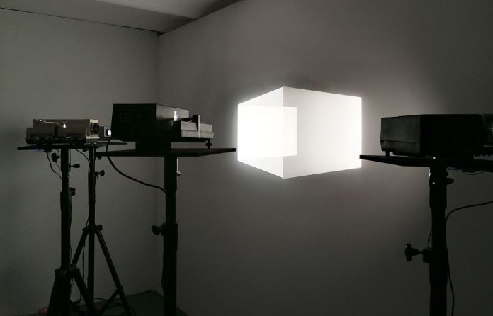 Paul Destieu - Light Cube,2010 - Art-cade - Marseille