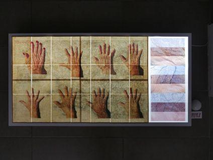 gethan&myles - Rupestre / Dans la peau - Lines / The distance between us au Studio Fotokino - Marseille - photo © gethan&myles