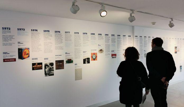 Les non-conformistes - Histoire d'une collection russe au MOCO Hôtel des collections - vue de l'exposition