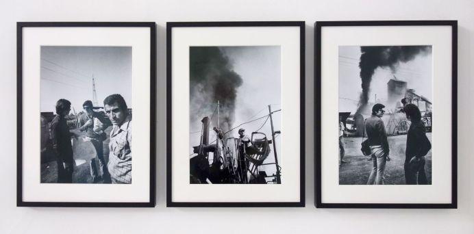 Robert Smithson - Asphalt Rundown, 15 octobre 1969 - Viva Villa 2019 - Collection Lambert
