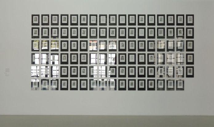Sylvain Konyali - Autoportrait sur une plaque de cuivre, Chapitre V ; Madrid, 2018-2019 - Viva Villa 2019 - Collection Lambert