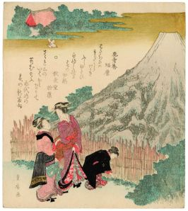 Utagawa Toyohiro (1774-1830), Nouveau Fuji au printemps, 1810-1829