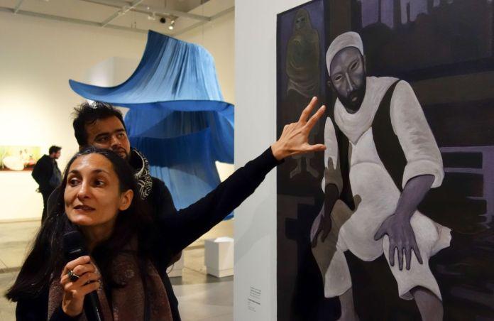 Guilda Chahverdi, commissaire de l'exposition Kharmohra au Mucem