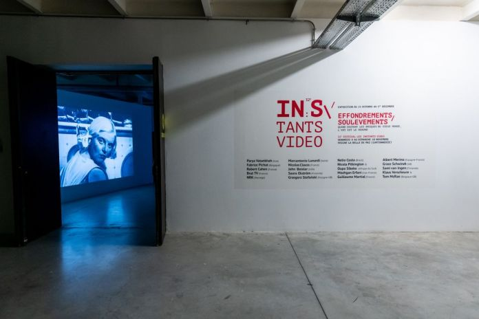 Les Instants Vidéo - Effondrements - Soulèvements à la Friche – Marseille - Photo Caroline Dutrey
