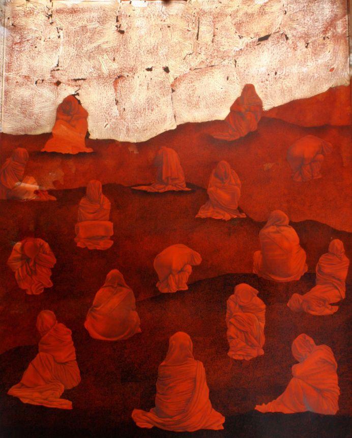 Mohsin Taasha, série «Tavalod-e dobareh-ye sorkh» [La renaissance du rouge], Kaboul, 2017 ©Mohsin Taasha