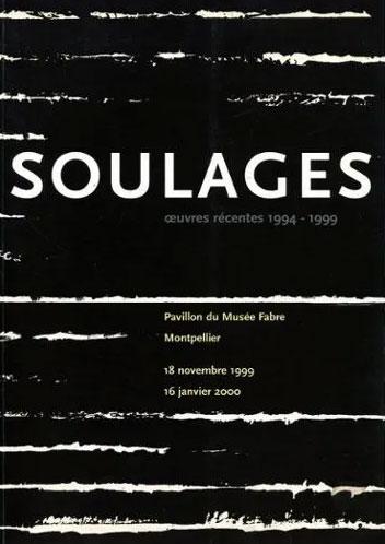 Pierre Soulages - Œuvres récentes 1994-1999 - Catalogue