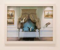 Karen Knorr - The green Bedroom Louis XVI de la série Fables, 2004 - Pouvoir(s) au Centre Photographique Marseille