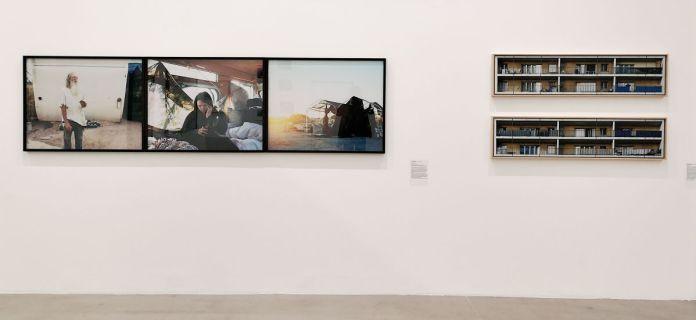 Photographie et documents, 1983-2018 au Frac Paca - Vue de l'exposition au Plateau 2