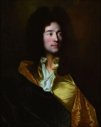 Hyacinthe Rigaud (Perpignan, 1659 – Paris, 1743), Portrait de Gaspard Rigaud, 1691