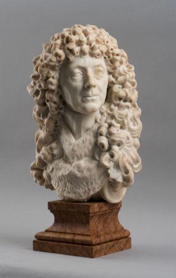 Christophe Veyrier , Buste de Jean Deydé (1617-1687), 1684