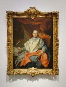 D'après Jean Raoux - Portrait de Charles Joachim Colbert de Croissy, évêque de Montpellier, 1738-1739