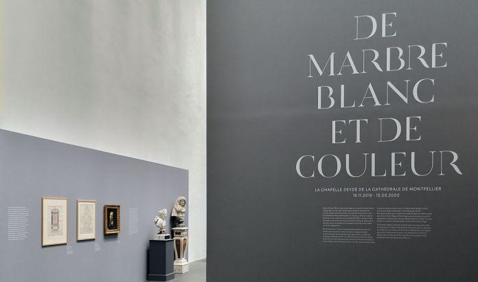 De mar/bre blanc & de couleur au musée Fabre