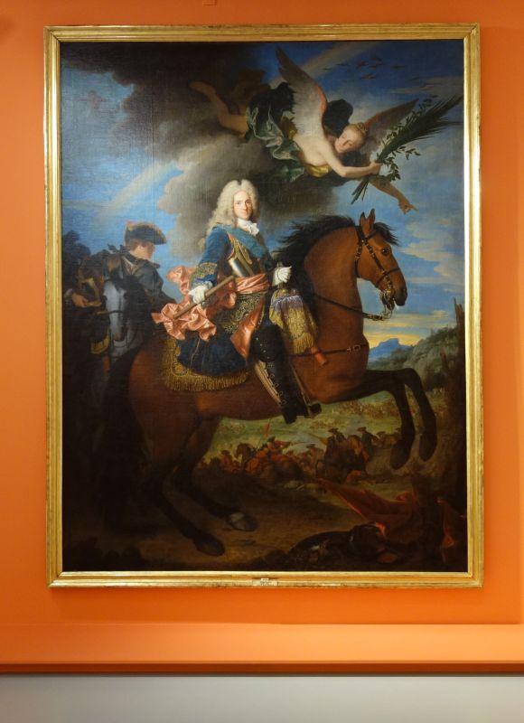 Jean Ranc - Portrait équestre de Philippe V, roi d'Espagne, Vers 1723