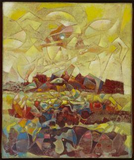 Max Ernst, Coloradeau, 1953
