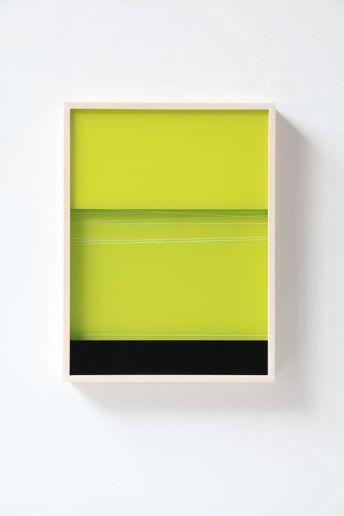 Moon-Pil Shim - Sans titre, 2019, 41x31x4 cm, technique mixte sous plexiglas - Galerie AL/MA
