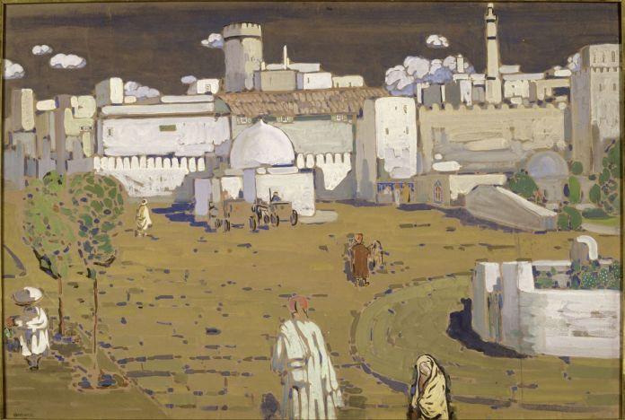 Vassily Kandinsky, Arabische Stadt [Ville arabe], 1905