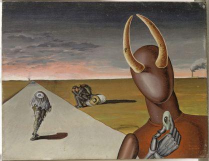 Victor Brauner, Le Dernier Voyage, 1937