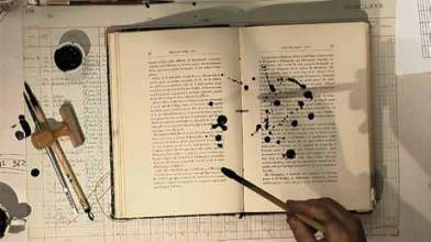 William Kentridge, L'Exploration du Sahara - Soft Dictionary, 2010