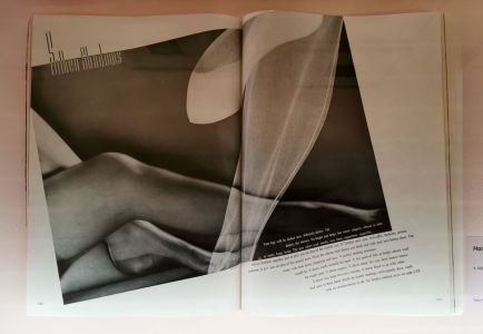 Harper's Bazaar, octobre 1935 - Man Ray, photographe de mode - Musée Cantini - Mode et publicité
