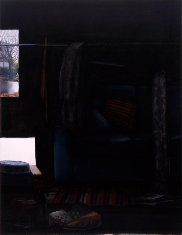 Lisa Milroy - Black and White, 2005 - Panneau 06